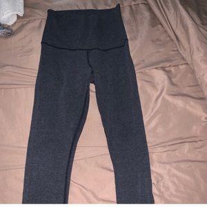 Grey lululemon size 6